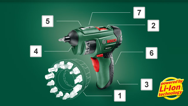Bosch PSR select - So funktionierts