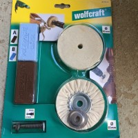 Wolfcraft Hobby Polier Set