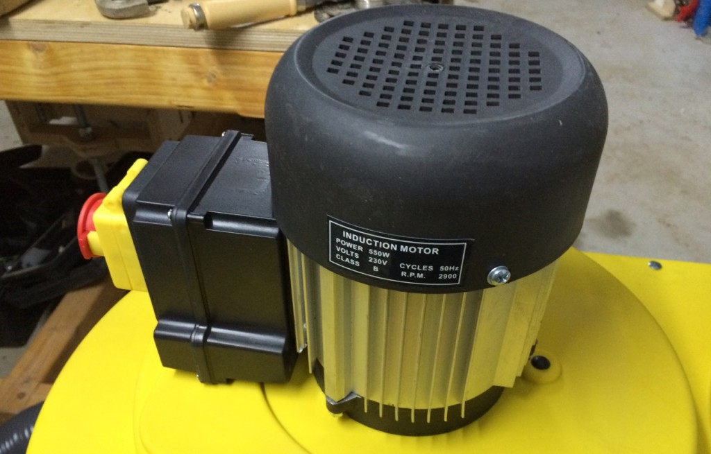 Absauganalage Record Power CX 2600 Motor